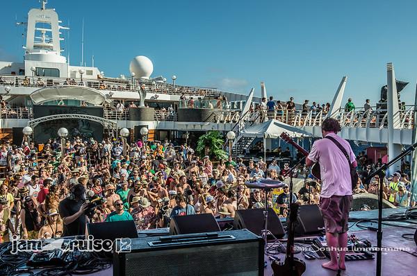 Keller Williams - Jam Cruise 12 - Pool Deck Stage - 1/5/14 - MSC Divina. ©Josh Timmermans 2014