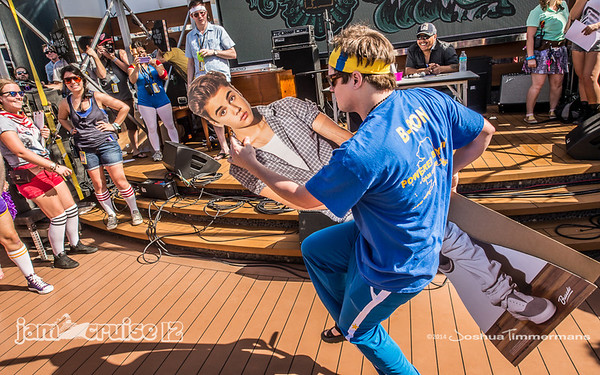 WTFunk Games - Jam Cruise 12 - Pool Deck - 1/5/14 - MSC Divina. ©Josh Timmermans 2014