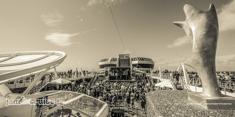 Infamous Stringdusters - Jam Cruise 12 - Pool Deck Stage - 1/5/14 - MSC Divina. ©Josh Timmermans 2014