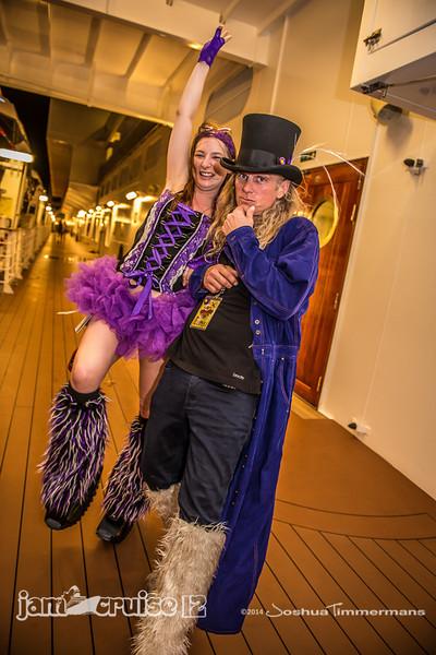 Robert Walters 20th Congress - Purple Power Night - Jam Cruise 12 - Black & White Lounge - 1/6/14 - MSC Divina. ©Josh Timmermans 2014