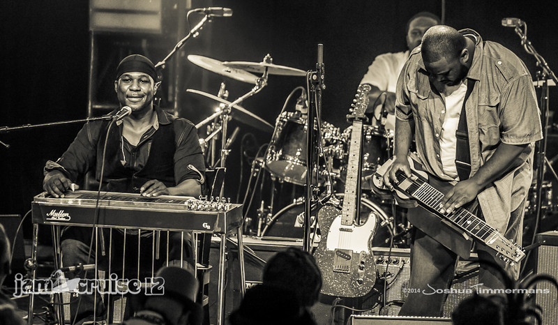 Robert Randolph & The Family Band - Purple Power Night - Jam Cruise 12 - Pool Deck Stage - 1/6/14 - MSC Divina. ©Josh Timmermans 2014