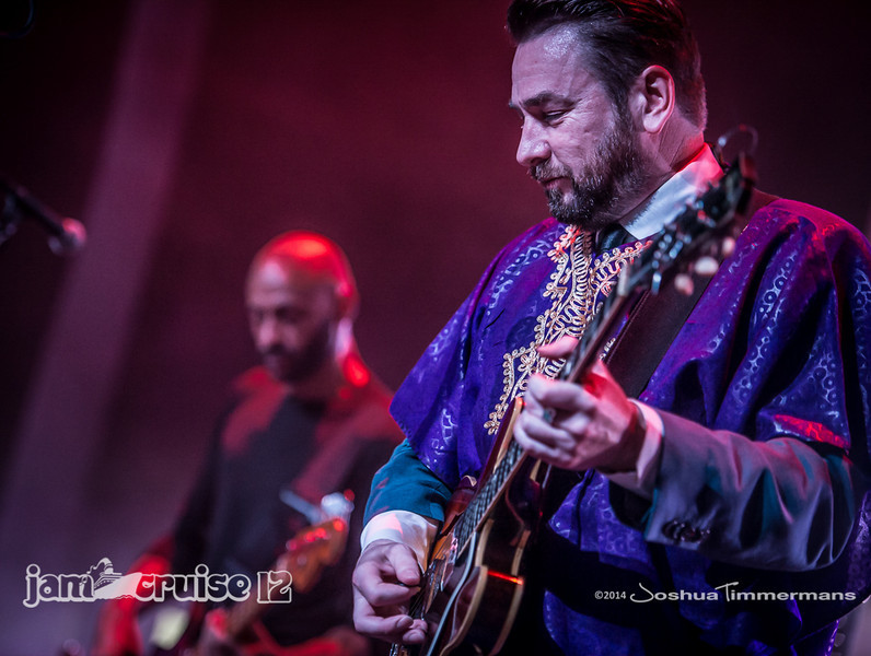 The New Mastersounds - Purple Power Night - Jam Cruise 12 - Pantheon Theater - 1/6/14 - MSC Divina. ©Josh Timmermans 2014