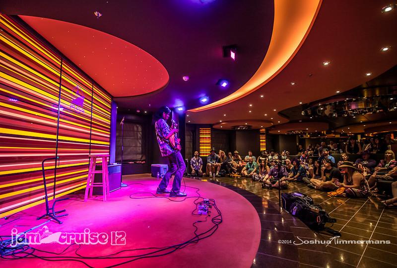 Stanley Jordan - Jam Cruise 12 - Golden Jazz Bar - 1/6/14 - MSC Divina. ©Josh Timmermans 2014