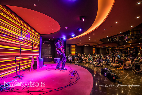 Stanley Jordan - Jam Cruise 12 - Golden Jazz Bar - 1/6/14 - MSC Divina. ©Josh Timmermans 2014