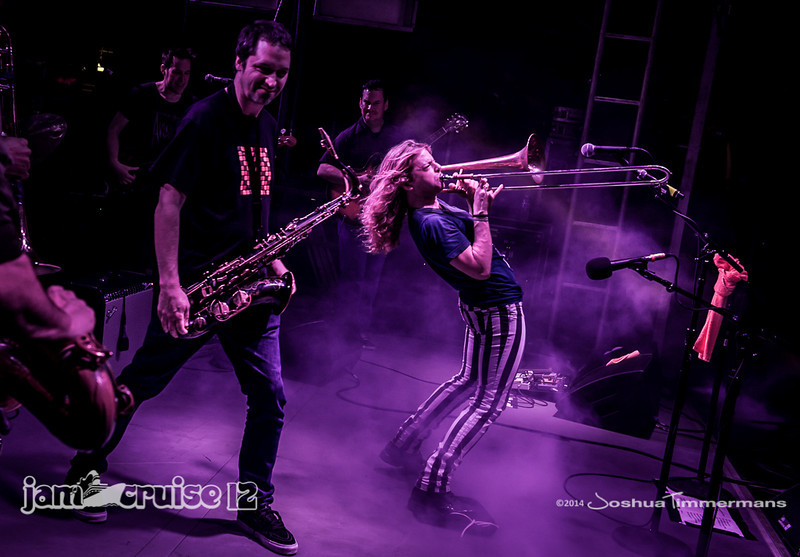 Galactic - Purple Power Night - Jam Cruise 12 - Pool Deck Stage - 1/6/14 - MSC Divina. ©Josh Timmermans 2014