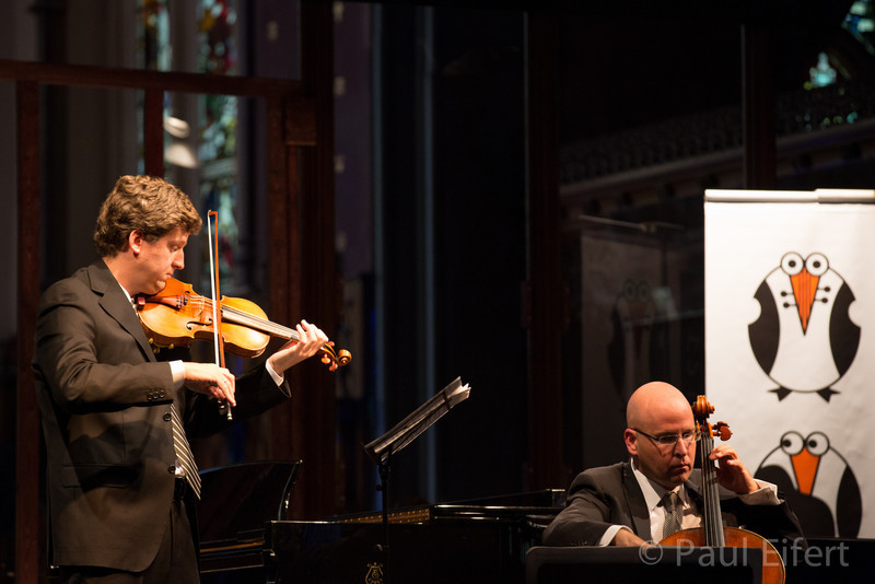 James Ehnes and Robert de Maine perform Maurice Ravel's Sonate for Violin and Cello in C Major as part of the Montreal Chamber Music Festival.