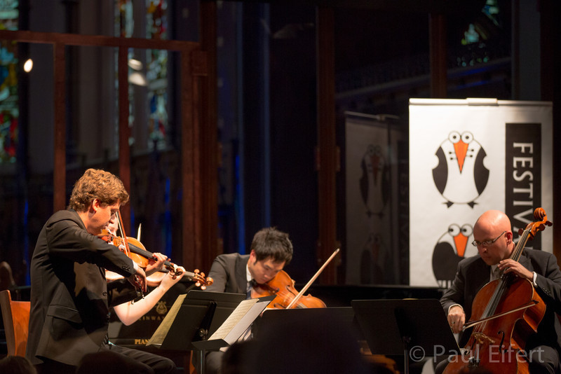 The James Ehnes String Quartet plays Maurice Ravel's Quartet in F as part of the Montreal Chamber Music Festival.