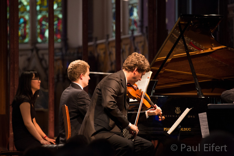 James Ehnes and Andrew Armstrong perform Maurice Ravel's Trio in A Minor (with Robert deMaine) as part of the Montreal Chamber Music Festival.