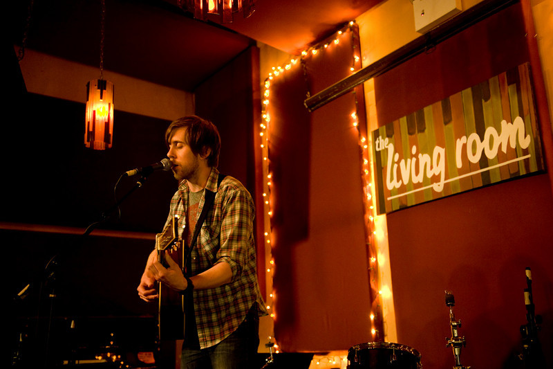 James Ewers of My Luminaries at The Living Room NYC - 11-21-2008