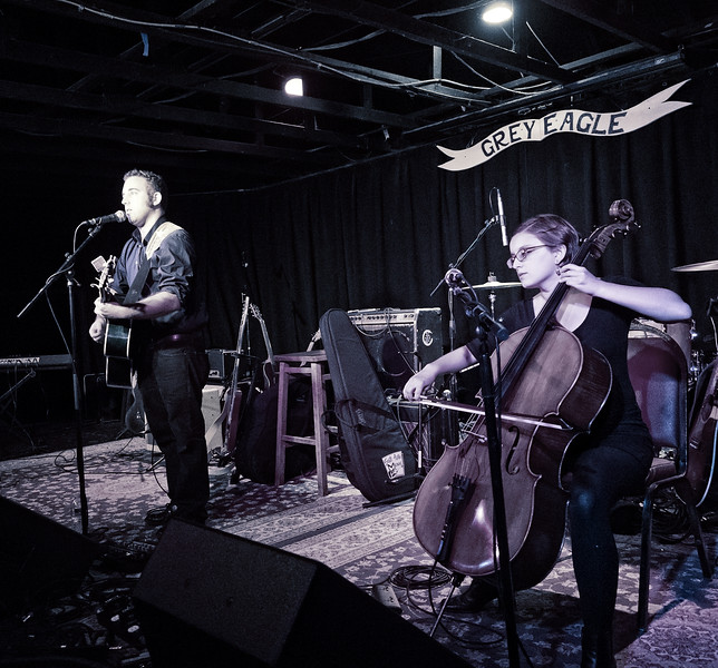 Curtis McMurtry and Diana Burgess open for James at the Grey Eagle in Asheville, NC.