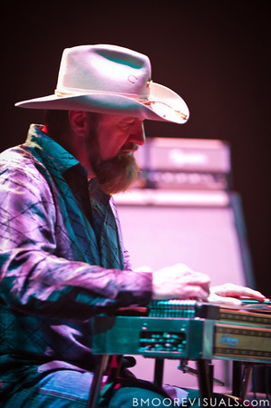 """Cowboy"" Eddie Long performs with Jamey Johnson on November 6, 2010 in support of ""The Guitar Song"" at Ruth Eckerd Hall in Clearwater, Florida"