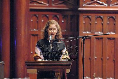 MC Diana Abu-Jaber, author and Portland State University professor