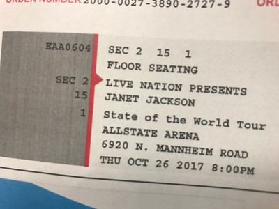 20171026 Janet Jackson: State of the World Tour