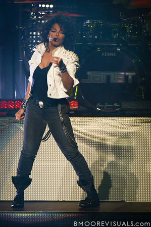 Janet Jackson performs on December 4, 2011 at Straz Performing Arts Center in Tampa, Florida