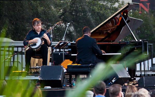 Jacksonville Jazz Festival - Marcus Roberts Trio and Bela Fleck