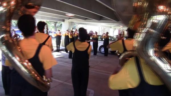 Video: UF Parade Practice
