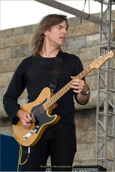 Mike Stern  Photo- Newport Jazz Festival 2005