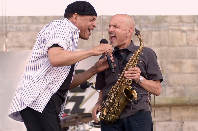 Al Jarreau and Joe Turano Photo