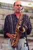 Michael Brecker Photo - 2000 JVC Newport Jazz Festival performance