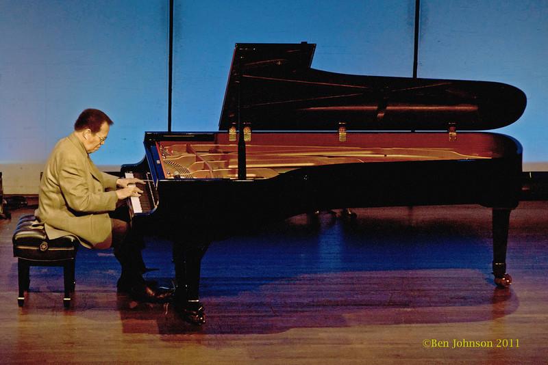 Jazz Piano Summit photos - Jackie Terrason, Hiromin and Cedar Walton at The Grand Opera House, Wilimington, Delaware. Solo Piano performaces on April 3, 2011.