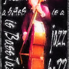 Jazz is.<br /> Daniel Franck, bass at WrayClub, Copenhagen.<br /> Photo painted with digital chalk brush in Corel Painter.