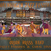 """Orion Brass Band.<br /> This is a fictional poster for the street parades made every year during the Copenhagen Jazz Festival. The figures are copied from the murals on the Thorvaldsen Museum depicting the grand reception of this sculptor in 1838. I´ve altered the sequence of the figures to my purpose and placed them in Nyhavn, a popular  dining and amusement district..<br /> Please visit <a href=""""http://www.thorvaldsensmuseum.dk/en/themuseum/themuseum/frieze"""">http://www.thorvaldsensmuseum.dk/en/themuseum/themuseum/frieze</a>"""