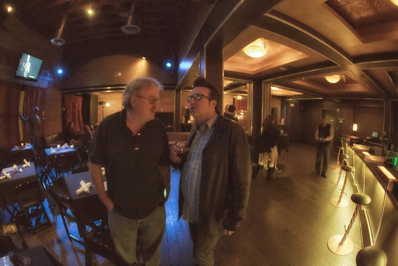 Tom Meek & Bernie Dresel