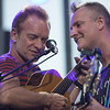 Sting and Joe Sumner at Jazz a Juan 2017