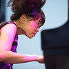Hiromi and Edmar Castaneda at Jazz à Juan 2017