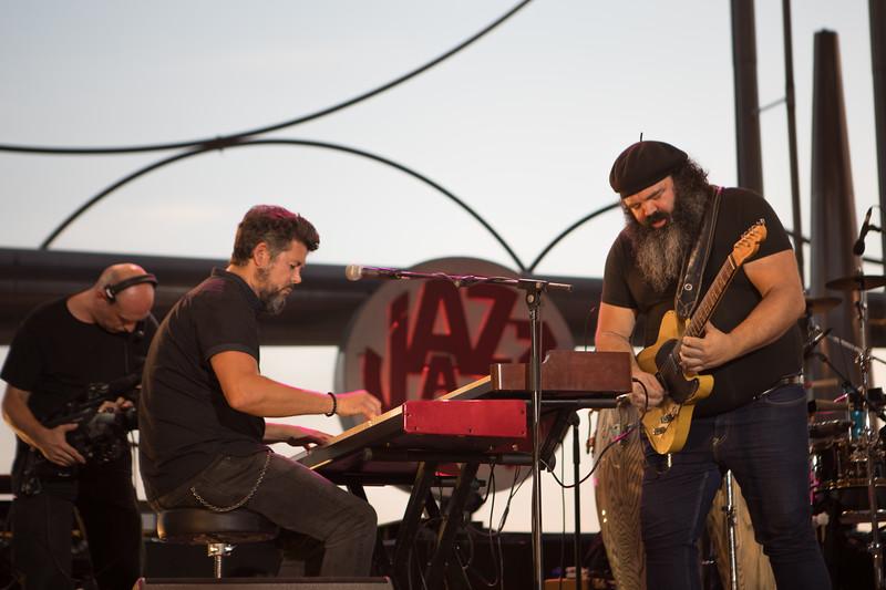 Johnny Gallagher at Jazz à Juan 2017