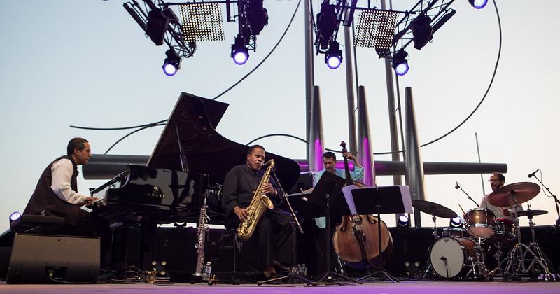 Wayne Shorter at Jazz à Juan 2017
