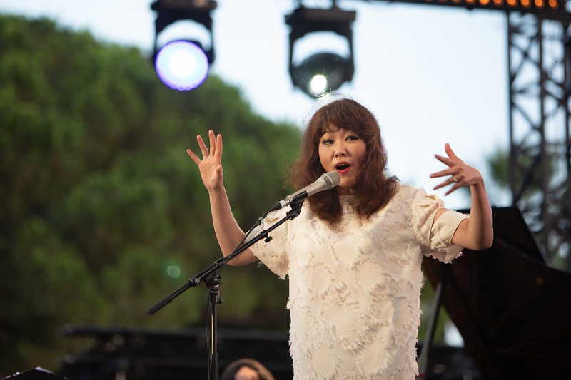 Youn Sun Nah at Jazz à Juan 2018
