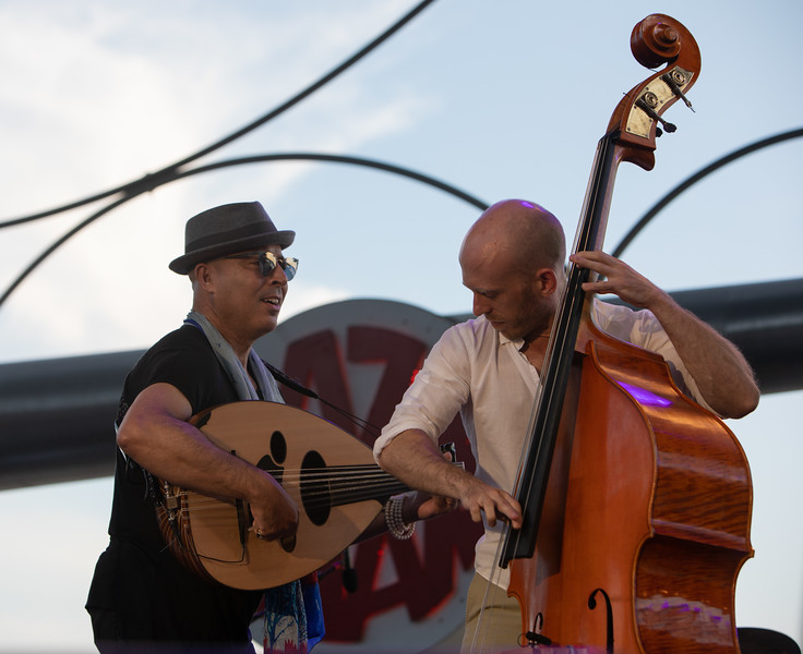 Dhafer Youssef at Jazz à Juan 2018