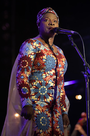 Ibrahim Maalouf and Angelique Kidjo at Jazz à Juan 2018