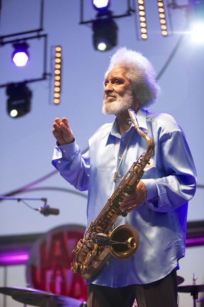 Sonny Rollins at Jazz a Juan 2012