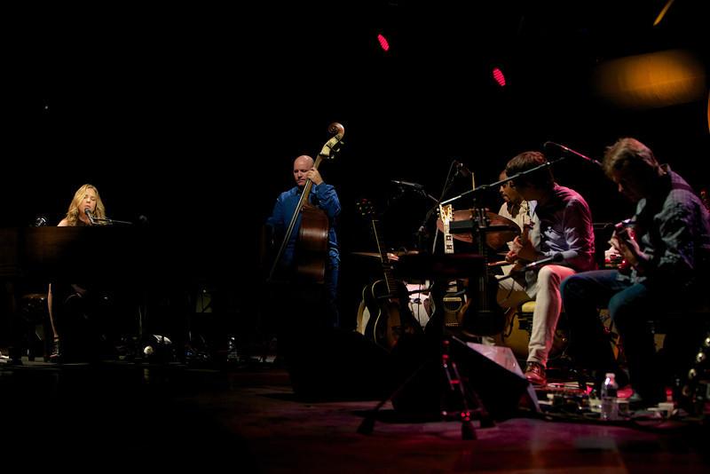 Diana Krall plays at Jazz à Juan 2013