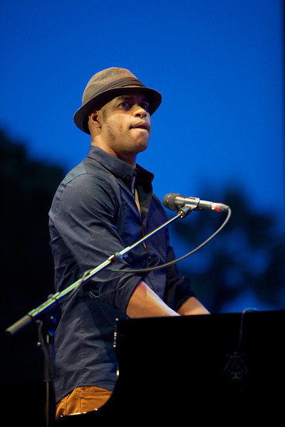 Roberto Fonseca performs at Jazz à Juan 2013