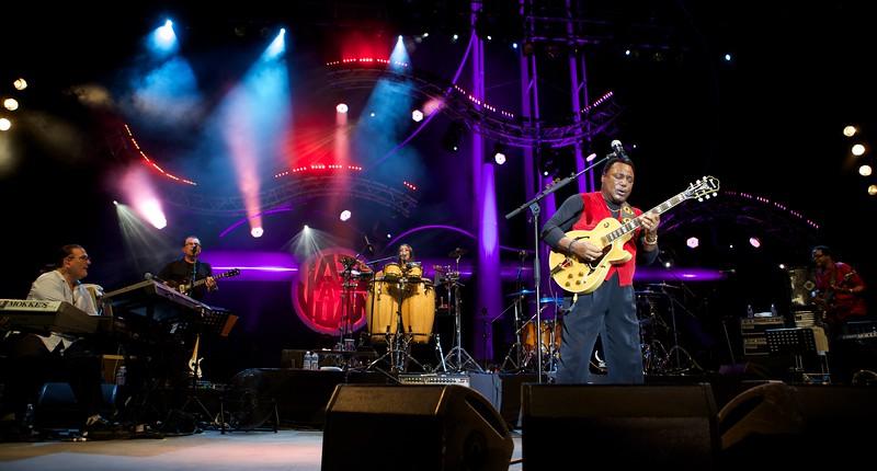 Georges Benson at Jazz à Juan 2014
