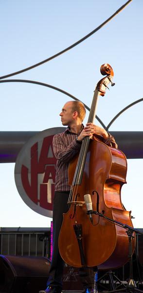 Matt Brewer (Yaron Herman Trio) at Juan les Pins