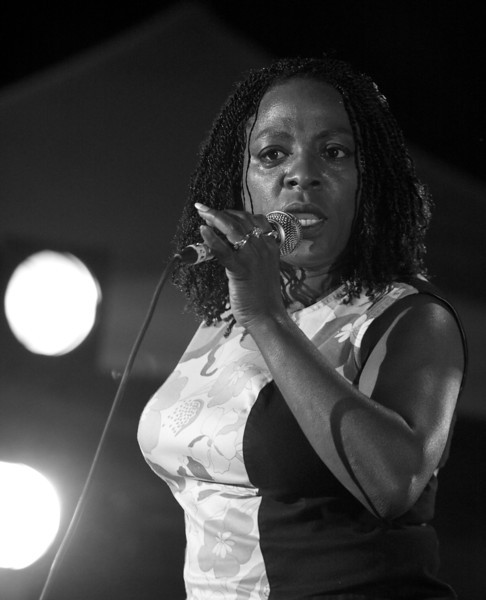 Sharon Jones at Juan les Pins