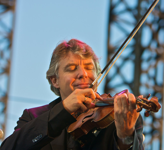 Didier Lockwood at Juan les Pins