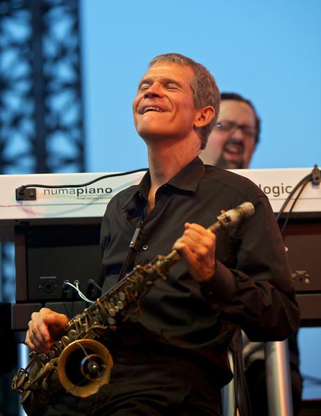 David Sanborn in concert at Jazz à Juan 2010