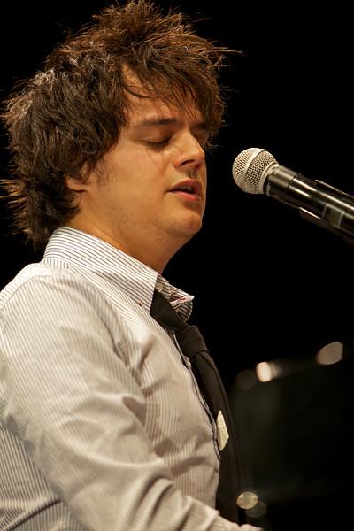 Jamie Cullum in concert at Jazz a Juan on 7/20/11