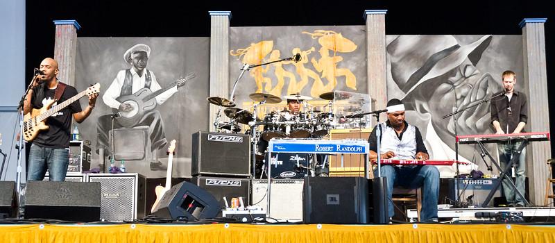 Day 7 - Robert Randolf Family Band - Blues Tent
