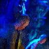 "Blue Magic Stick. Claus Kaarsgaard: bass and Andreas Fryland: drums at <a href=""http://www.paradisejazz.dk/""target=""_blank"">Paradise Jazz</a>, Huset, Copenhagen. Photo painted with digital impressionist sargent brush in Corel Painter + texture layers."