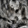 The Legend.<br /> Doug Raney: guitar at JazzCup, Copenhagen.<br /> Photo painted with digital pencil in Dynamic Auto Painter.