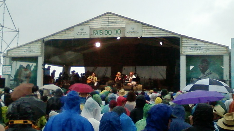 Cell Phone pics only for Anders & John & Johnny. It was a thunder & lighting storm - they kept on playing so we kept on watching & listening. I kept worrying they were gonna get electrocuted up there!