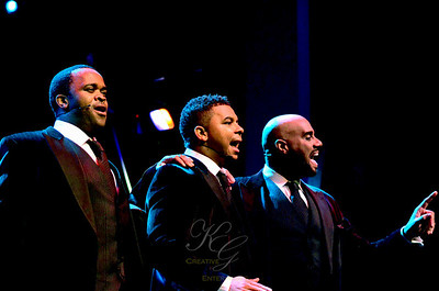 The Three Mo' Tenors: Phumzile Sojola, Victor Robertson, Duane Moody.   Move over, Luciano and Placido, you got company.