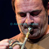 Le trompettiste fribourgeois Matthieu Michel.