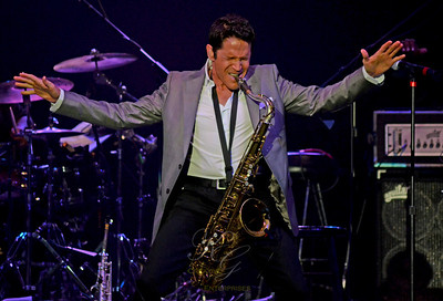 Dave Koz, the Paramount Theater, Huntington, Long Island, 8/10/12.